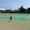 全国選抜テニス関東予選大会2日目。