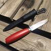 滑り止めの無いナイフはちょっと怖い。不満が見えたらそれは改造のサイン。モーラナイフを改造するぞ!