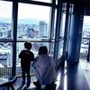 富山市役所展望塔から
