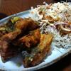 今日の晩飯 鯖の竜田揚げ カレー風味を作ってみた