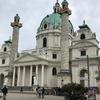ヨーロッパひとり旅日記 22. カールス教会: KARLS KIRCHE