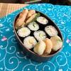 細巻き寿司とむね肉の塩麹焼き弁当