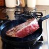 鉄のフライパン シャロウパンでローストビーフ/南部鉄器 釜定