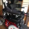 車椅子が新しくなり