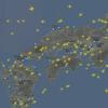 リアルタイム!!飛行機の位置がわかる『Flightradar』が便利すぎた!