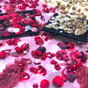 マドモアゼル プリヴェ展の刺繍のワークショップ