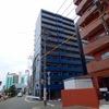 博多駅近くに新築完成間近