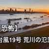 【荒川氾濫】台風19号がもたらした危険水位 2019年10月12日