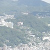 ボウッとしていますが・・稲佐山から見た愛宕山です