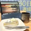 ブログ30日連続投稿を達成。この1か月を振り返ってみる