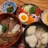 汁物シリーズ第26弾 鰹の漬け丼と大和芋のすまし汁