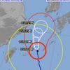 台風なう 965hPa