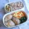 リメイクレシピ「千切りキャベツの豚巻き マヨポン味」のお弁当