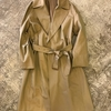 AURALEE FINX CHANBRAY WRAP COAT SS