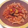 ローソンの野菜を食べる生パスタ(トマトソース)は糖質制限でも美味しい!