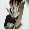 【インテリアコーディネーター・製図②】色鉛筆ケース(筆箱)は自立するのを選ぶ