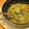 レンズ豆とスペルト小麦のミネストローネ
