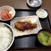 西川口の「あおき食堂」でブリの照り焼き生姜風味定食を食べました★