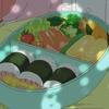 小林さんちのメイドラゴンS 6話 かんなとサイカワ弁当を食べる  他