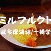 【一橋学園ランチ】駅近!カレー専門店「ミルフルクト」2014年オープンの可愛いお店