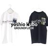 yoshio kubo GROUNDFLOOR - PRINT TEE -