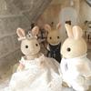 結婚式用シルバニア人形