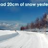 【英語】「〇〇センチの雪が積もった」は英語で何て言う?
