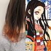 【横浜でアニメカラーやるなら】鬼滅の刃、竈門禰豆子(かまど ねずこ)の場合💕