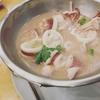 ぷりっぷり!イカのマナオ蒸し@レムチャロンシーフード【Laem Charoen Seafood】
