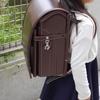 土屋鞄のランドセルで小学生になります!クラリーノエフコンビ茶×ピンクを選びました。
