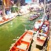 タイ⑫ 【ベルトラ】エンジンボートでダムヌンサドゥアク水上マーケットへ! 【水上生活の様子を見られる】