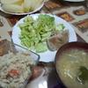 【1人100円夕食】鶏もも肉ソテーに卯の花