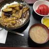 西川口の「あおき食堂」で麻婆茄子丼定食を食べました★