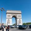 フランス パリのトランジットで 10 エトワール凱旋門