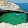人為的には絶対に作ることができない自然の贈り物」天然プール」