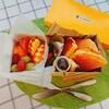 【お弁当】フルーツいっぱい!パンケーキ弁当は空き箱利用で