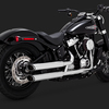 "パーツ:Vance & Hines「2018 Softail Twin Slash 3"" Slip-Ons」"