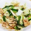 肉野菜の味噌炒め