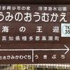 海の王迎駅「土佐くろしお鉄道」黒潮町
