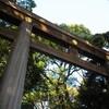 明治神宮を歩く