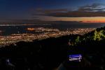 地上690メートル、神戸・摩耶山の掬星台からダイナミックな夜景を鑑賞!
