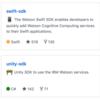 .NET Standard で IBM Watson が使えるよ!!
