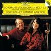 シューマン:ヴァイオリンソナタ第1番・第2番 / クレーメル, アルゲリッチ (1986/2015 SHM-CD)