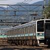 189系 あずさ80号 in南松本