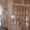 天井高い、そして平屋建ての新築木造。