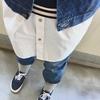 今日の服|デニムオンデニムに白シャツできれいめストリート風?を気取ってみた