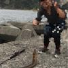 西伊豆にてウツボ釣り