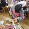 4年生:図工 ギコギコクリエーター完成へ
