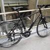通勤用クロスバイクのホイール交換