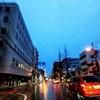 1月5日朝7時の通勤途中の風景